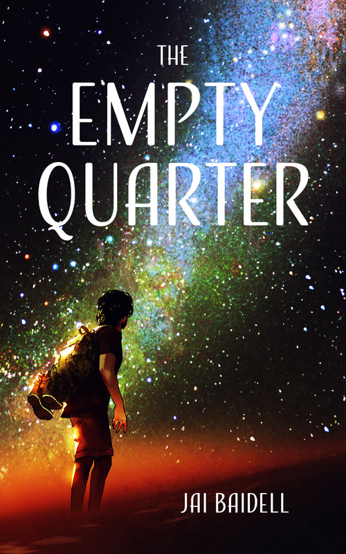 Empty Quarter book cover and link to page